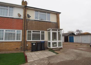 Thumbnail 2 bed end terrace house to rent in Elmstone Close, Lancing