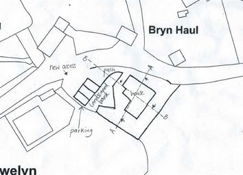 Thumbnail Land for sale in Penrhyndeudraeth