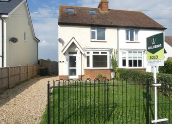 Thumbnail 3 bed semi-detached house to rent in Keeley Lane, Wootton, Bedford