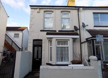 Thumbnail 3 bed semi-detached house for sale in Regent Road, Gillingham
