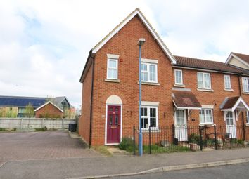 Thumbnail 2 bed end terrace house for sale in Chaffinch Walk, Great Cambourne, Cambridge