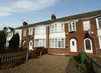Thumbnail 3 bed terraced house for sale in Kingston Road, Willerby, Hull