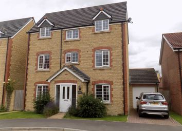 Thumbnail 4 bed detached house for sale in Mustang Way, Swindon