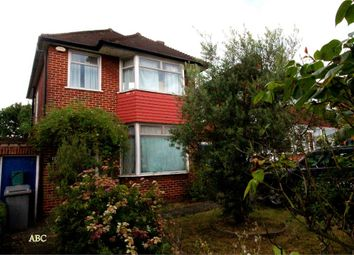 Thumbnail 3 bed detached house for sale in Stag Lane, Edgware, Middlesex