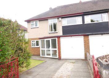 Thumbnail 3 bed semi-detached house for sale in Kings Lane, Bebington