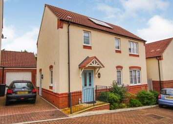 Thumbnail 3 bed detached house for sale in Foxglove Close, Stoke Gifford, Bristol