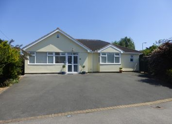 Thumbnail 3 bedroom detached bungalow for sale in Hidcote Road, Oadby, Leicester