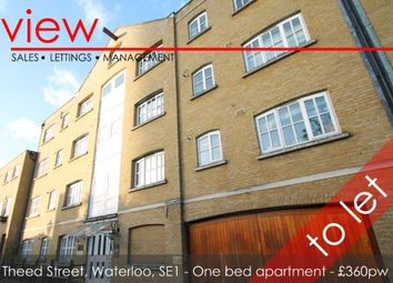 Thumbnail 1 bedroom flat to rent in Theed Street, London