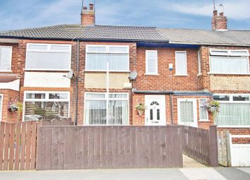 Thumbnail 2 bedroom terraced house for sale in Swaledale Avenue, Hull