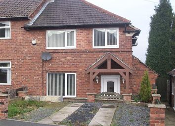 Thumbnail 3 bed semi-detached house for sale in Laurel Crescent, Hollingwood, Chesterfield