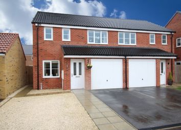 Thumbnail 3 bed semi-detached house for sale in Palm House Drive, Selby