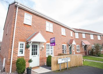 Thumbnail 3 bed end terrace house for sale in Woodseaves Close, Irlam