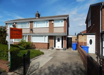 Thumbnail 3 bed semi-detached house to rent in Devonworth Palce, Blyth