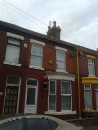 Thumbnail 3 bed terraced house to rent in Elmdale Road, Walton, Liverpool