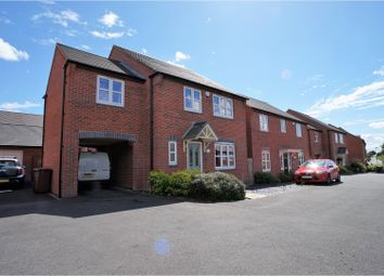Thumbnail 4 bed detached house for sale in Paisley Walk, Church Gresley