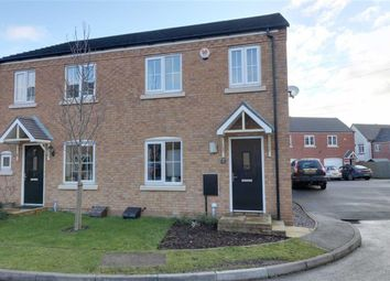 Thumbnail 3 bed semi-detached house for sale in Packington Mews, Cannock, Staffordshire