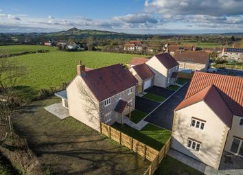Thumbnail 4 bed detached house for sale in Newtown, West Pennard, Glastonbury