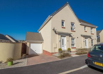 Thumbnail 3 bed semi-detached house for sale in Charnley Drive, Bodmin