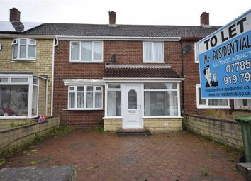 Thumbnail 3 bedroom terraced house to rent in Raeburn Road, South Shields