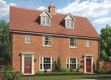 Thumbnail 1 bed semi-detached house for sale in Station Road, Framlingham, Suffolk
