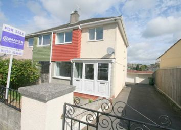 Thumbnail 3 bed semi-detached house for sale in 4 Dudley Road, Plympton, Plymouth.
