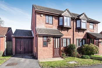 Thumbnail 3 bed semi-detached house for sale in Camellia Drive, Warminster
