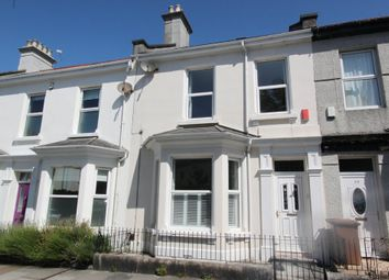 Thumbnail 5 bed terraced house to rent in Portland Road, Stoke, Plymouth