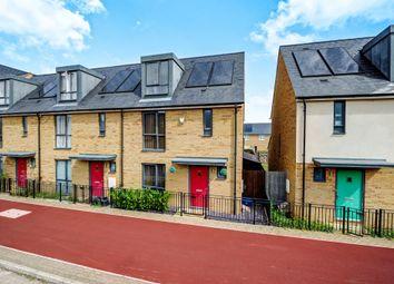 Thumbnail 3 bedroom end terrace house for sale in Fen Street, Brooklands, Milton Keynes