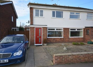 Thumbnail 3 bed semi-detached house to rent in All Saints Road, Lowestoft, Suffolk