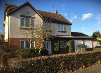 Thumbnail 4 bedroom detached house for sale in Cardinals Gate, Werrington, Peterborough