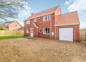 Thumbnail 4 bed detached house for sale in Mill Road, Potter Heigham, Great Yarmouth