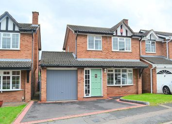 Thumbnail 3 bed detached house for sale in Maple Grove, Lichfield