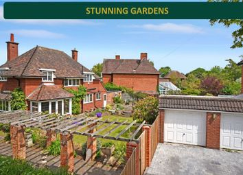 Thumbnail 4 bed detached house for sale in Stougton Road, Oadby, Leicester