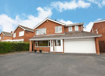 Thumbnail 5 bed detached house for sale in Fowgay Drive, Shirley, Solihull