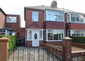 Thumbnail 3 bed semi-detached house for sale in Hollywell Road, North Shields