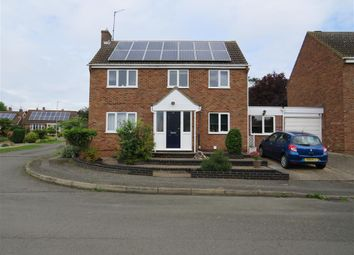 Thumbnail 5 bed link-detached house for sale in Holmes Avenue, Raunds, Wellingborough