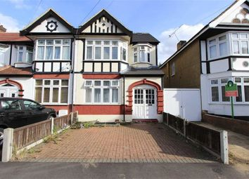 Thumbnail 4 bed end terrace house for sale in Eccleston Crescent, Romford, Essex