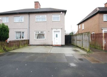 Thumbnail 3 bed semi-detached house for sale in Princes Gardens, Blyth