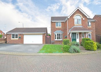 Thumbnail 5 bed detached house for sale in Western Gales Way, Normanton