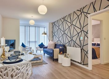 Thumbnail 2 bedroom flat for sale in Plot 50, Trinity Square, High Road, Finchley, London