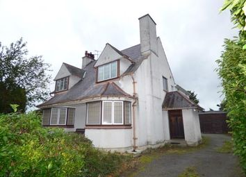 Thumbnail 4 bed detached house for sale in Penrhos Road, Bangor, Gwynedd