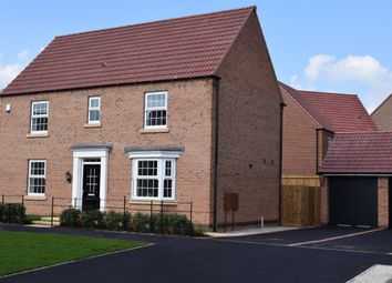 "Thumbnail 4 bedroom detached house for sale in ""Layton"" at Wright Close, Whetstone, Leicester"