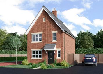 "Thumbnail 3 bed detached house for sale in ""Melbourne"" at Monument Road, Chalgrove, Oxford"