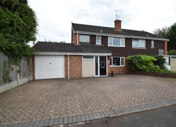 Thumbnail 3 bed semi-detached house for sale in Edmonton Close, Lowerwick, Worcester