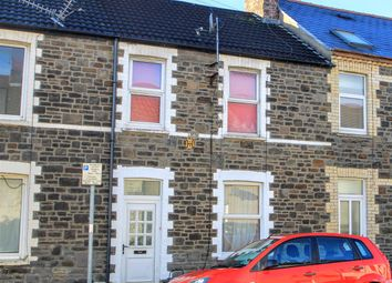 Thumbnail 4 bed terraced house for sale in Flora Street, Cathays, Cardiff