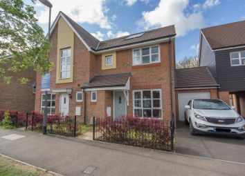 Thumbnail 3 bed semi-detached house for sale in Stadium Approach, Aylesbury
