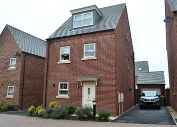 Thumbnail 4 bed detached house for sale in Samara Close, Midway, Swadlincote