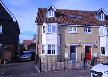 4 bed semi-detached house for sale in Harrington Crescent, North Stifford, Essex RM16