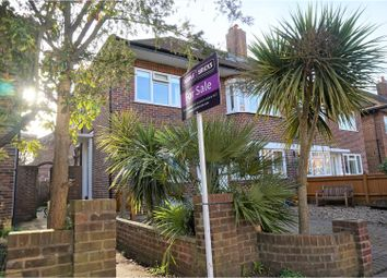 Thumbnail 3 bed maisonette for sale in Merton Hall Road, London