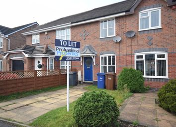 Thumbnail 2 bed town house to rent in Weston Park Avenue, Stretton, Burton.